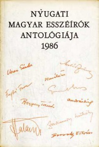 Nyugati magyar esszéírók antológiája 1986