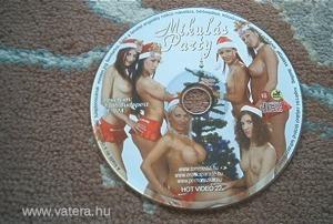 Mikulás party pornó VCD