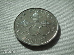 1994 ezüst 200 Forint