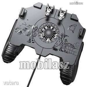 UNIVERZÁLIS Kontroller / Joystick - ravasz FPS játékokhoz, gamepad, beépített hűtőventilátor CSAK...