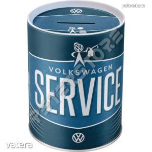 Retró Fém Persely - Volkswagen Service - VW Szerviz