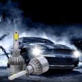 C6 LED autó fényszóró izzó pár H7 foglalattal - hidegfehér