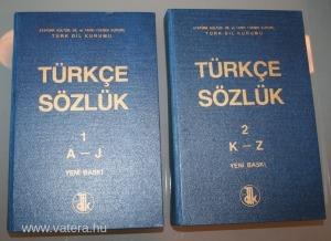 Török-török szótár I-II, Yeni Baski, v4500