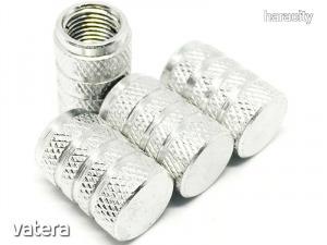 Szelepsapka Alumínium Sport 11x16mm - 4db - Ezüst szürke