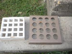 2db szellőzőrács szellőző falba