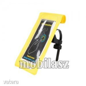 """UNIVERZÁLIS biciklis / kerékpáros tartó konzol mobiltelefon készülékekhez - max 6""""-os méreti..."""