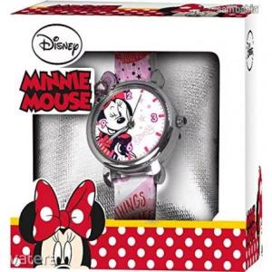 Disney Minnie analóg karóra díszdobozban