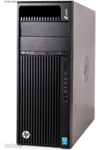 HP Z440 8 magos E5-2640v3 (i5-9600K szint) 16 Gb ddr4 hdd/ssd  700W táp  Bővíthető akár i7-9700K-ig