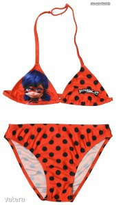 Miraculous - Katicabogár mintás bikini (104)