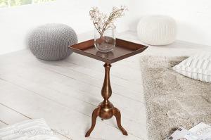 JARDIN barokk réz asztalka 55 cm