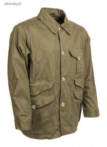 Kabát sztreccs zöld