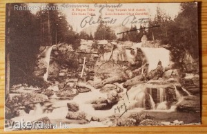 A Magas Tátra - Nagy Tarpatak felső vízesés (*KYT)