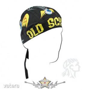 Headwrap - Old School Do-Rag. vászon kendő