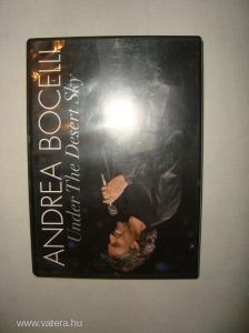 ANDREA BOCELLI - Under The Desert Sky [DVD]   -  RITKA KIADVÁNY