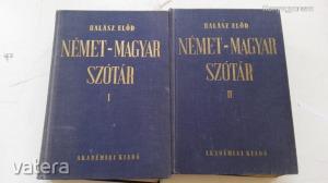 Halász Előd: Német-magyar szótár I-II.(*94)