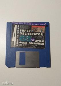 AMIGA Játék 4 Games on disk - DEMO - G