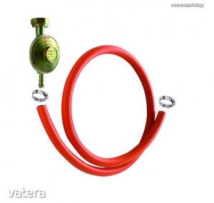 PB gázpalackhoz tömlő készlet nyomáscsökkentővel Kód:50415