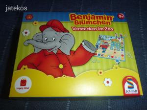 Benjamin Elefánt - Bújócska az állatkertben - ÚJ társasjáték