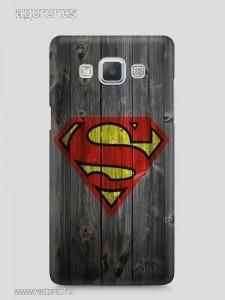 Superman mintás Samsung Galaxy J5 2016 tok hátlap