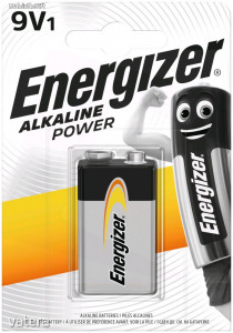 Energizer Power Alkáli 9V Elem B1