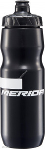 MERIDA Kulacs ME fekete, 800ml Stripe (fehér Merida logóval) 2123003712