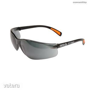 Védőszemüveg sötét UV védős YATO Kód:YT-73641