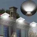 Mozgás- és fényérzékelős napelemes kerti lámpa