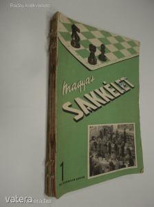 Magyar Sakkélet 1953 / III. évfolyam 1-12., teljes (*85)