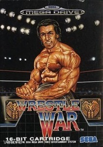 SEGA Mega Drive Játék Wrestle war
