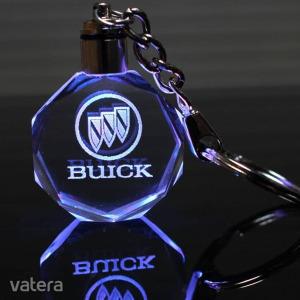 Ledes Autó logo kulcstartó 3D Gravírozással - BUICK