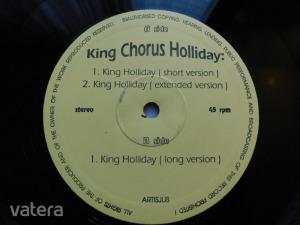King Chorus Holliday - King Holliday (12inch, 45rpm, VG) - Vatera.hu Kép