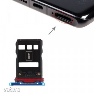 SIM és NM (nano) memóriakártya tartó Huawei P30 Pro (kék)