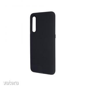 Defender Smooth - Apple iPhone 12 Mini 2020 (5.4) fekete ütésálló szilikon tok