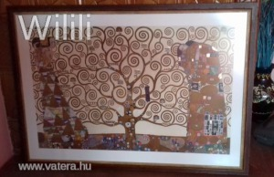 Az élet fája reprodukció , Gustav Klimt.