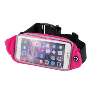 Neon Collection telefontartó futó övtáska, L-s, 5.3-ig, rózsaszín