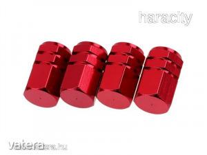 Szelepsapka Alumínium Sport - 4db - Piros
