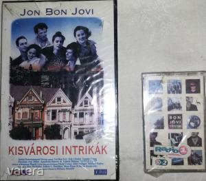 Jon Bon Jovi   1 db VHS videokazetta, + 1 db MC  egyben,  mindkettő gyári, bontatlan, celofános