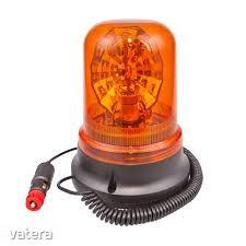 Villogó megkülönböztető jelzőfény LED-es, Nem E-jeles, 12V H1