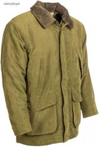 Mikroszálas kabát zöld színben (42)