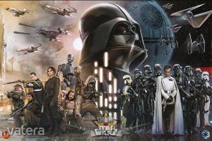 Star Wars - Rogue One . Rebels vs Empire. plakát, poszter