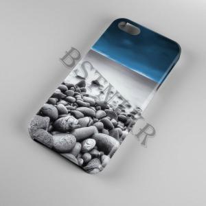 tengerpart kövek Samsung Galaxy A6 Plus A6 + tok hátlap tartó