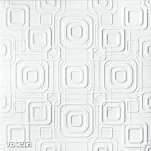 Álmennyezeti lap, C2070, fehér, 50 x 50 cm