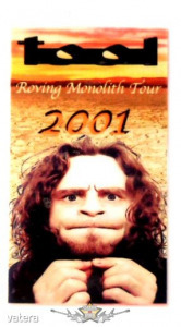 TOOL - ROVING MONOLITH TOUR. 2001. ALL ACCES. Stage pass.