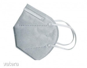 5db Aktív szenes FFP2 kn95 védő maszk szürke szájmaszk  arcmaszk