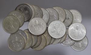 ezüst 200 forint csomag ( 25 db )   SN93