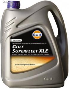 Gulf SuperFleet XLE 10W40 tehergépjármű motorolaj 1L