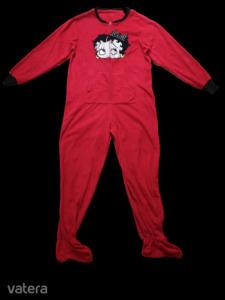 Női M-es piros házruha - Betty Poop