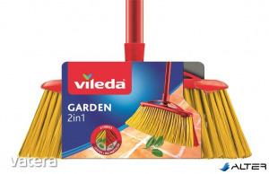 Partvis, kültéri, nyéllel, VILEDA 2in1 Garden