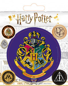 HARRY POTTER (HOGWARTS) VINYL STICKER. matrica szett