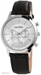 Alain Miller férfi karóra műbőr szíjjal